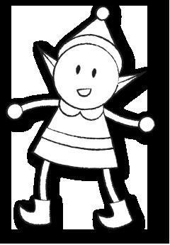 Sketched Content Elf